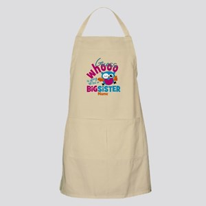 Personalized Big Sister - Owl Apron