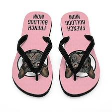 French Bulldog Mom Flip Flops