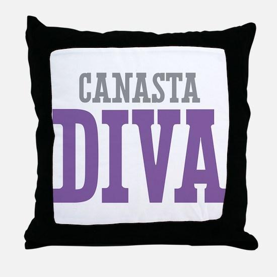 Canasta DIVA Throw Pillow