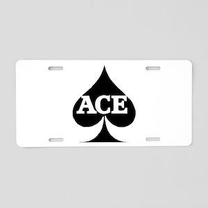 ACE Aluminum License Plate
