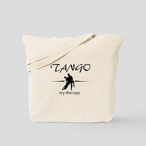 Tango my therapy Tote Bag