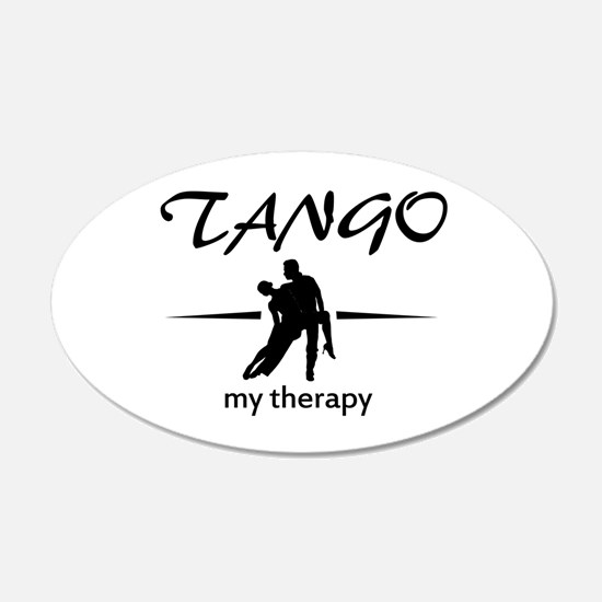 Tango my therapy Wall Decal