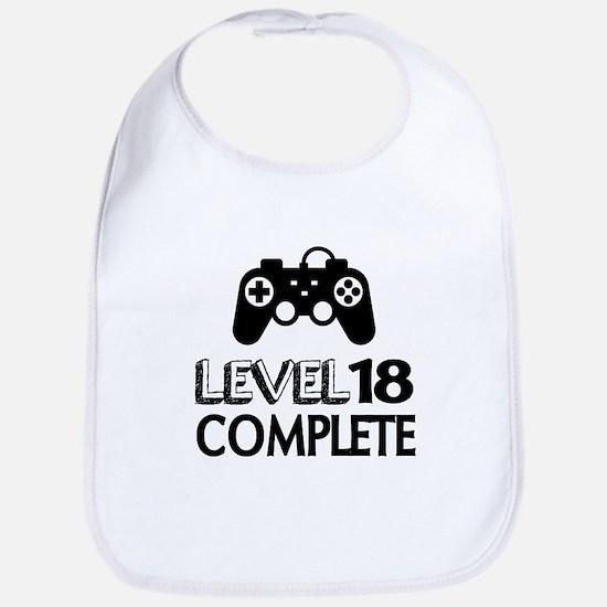 Level 18 Complete Birthday Designs Cotton Baby Bib