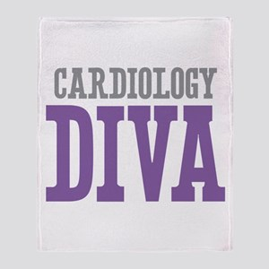 Cardiology DIVA Throw Blanket
