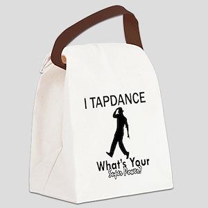 TapDance my superpower Canvas Lunch Bag
