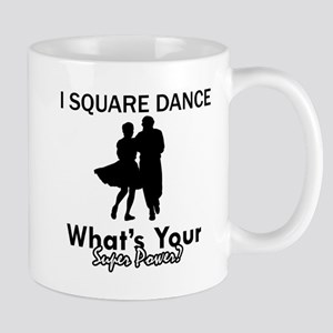 Square my superpower Mug