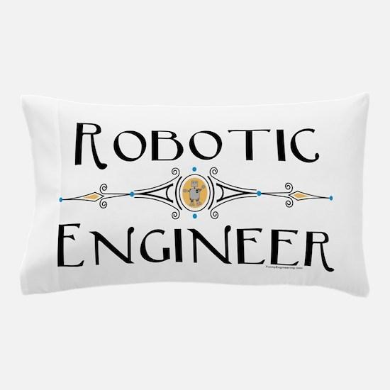 Robotic Engineer Line Pillow Case