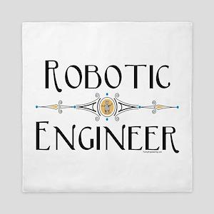 Robotic Engineer Line Queen Duvet