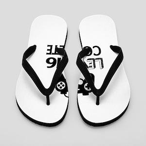 Level 16 Complete Birthday Designs Flip Flops