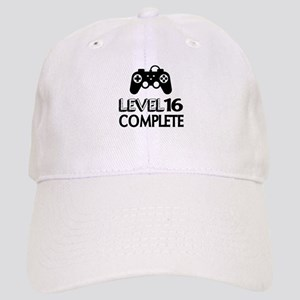 Level 16 Complete Birthday Designs Cap