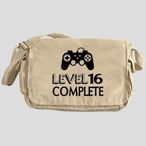 Level 16 Complete Birthday Designs Messenger Bag