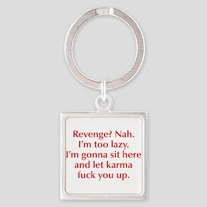 revenge-nah-opt-red Keychains