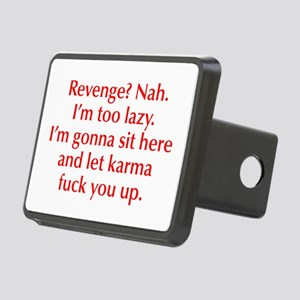 revenge-nah-opt-red Hitch Cover