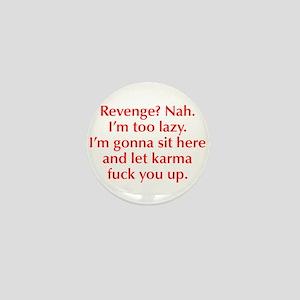 revenge-nah-opt-red Mini Button