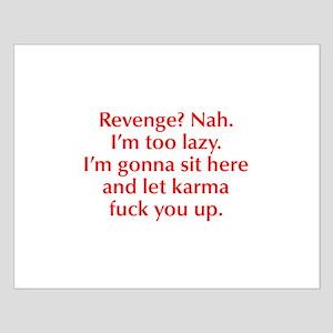 revenge-nah-opt-red Posters
