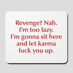 revenge-nah-opt-red Mousepad