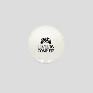 Level 16 Complete Birthday Designs Mini Button