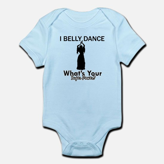 Bellydance my superpower Infant Bodysuit