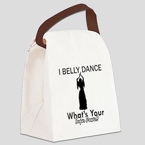 Bellydance my superpower Canvas Lunch Bag
