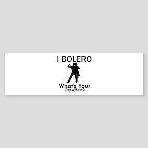 Bolero my superpower Sticker (Bumper)