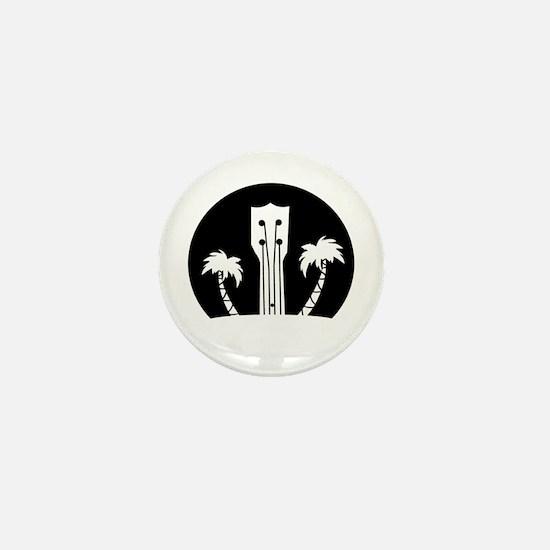 Funny Ukelele Mini Button