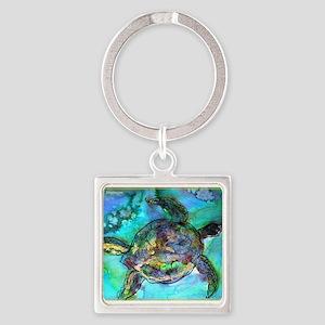Sea Turtle, Wildlife art! Keychains