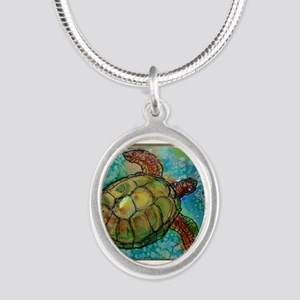 Sea turtle! Wildlife art! Necklaces