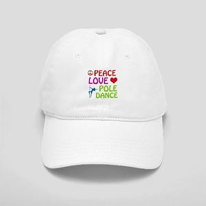 Peace Love Poledance Cap