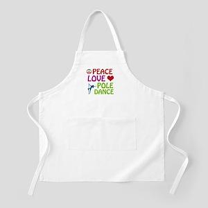 Peace Love Poledance Apron