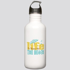 Life's Better Beach Stainless Water Bottle 1.0L