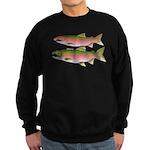 Pacific Coho Salmon fish couple Sweatshirt