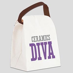 Ceramics DIVA Canvas Lunch Bag