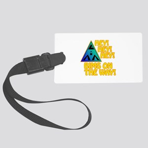 BIMS On The Way Large Luggage Tag