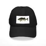 Giant Black Sea Bass fish Baseball Hat