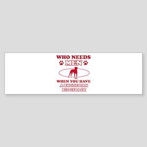 Rhodesian Ridgeback Mommy designs Sticker (Bumper)