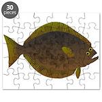 Halibut fish Puzzle