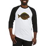 Halibut fish Baseball Jersey