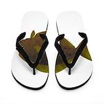 Halibut fish Flip Flops