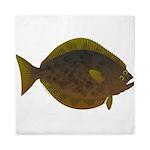 Halibut fish Queen Duvet