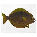 Halibut fish King Duvet
