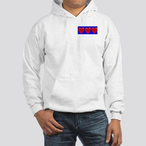 RN EKG Heart Hooded Sweatshirt