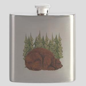 SNUGGLE TIME Flask