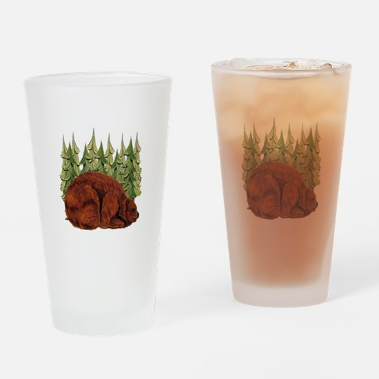 SNUGGLE TIME Drinking Glass