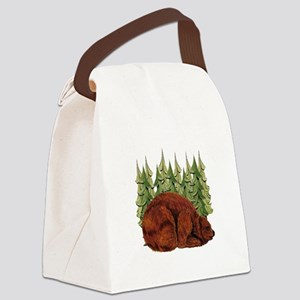 SNUGGLE TIME Canvas Lunch Bag