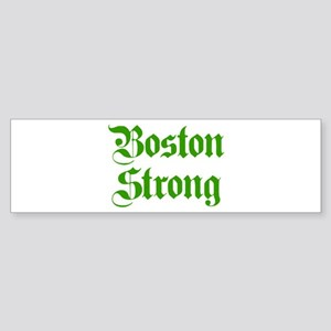 boston-strong-pl-ger-green Bumper Sticker