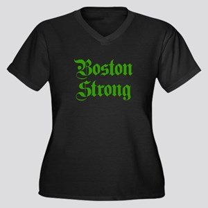 boston-strong-pl-ger-green Plus Size T-Shirt