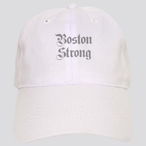 boston-strong-pl-ger-gray Baseball Cap