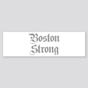 boston-strong-pl-ger-gray Bumper Sticker