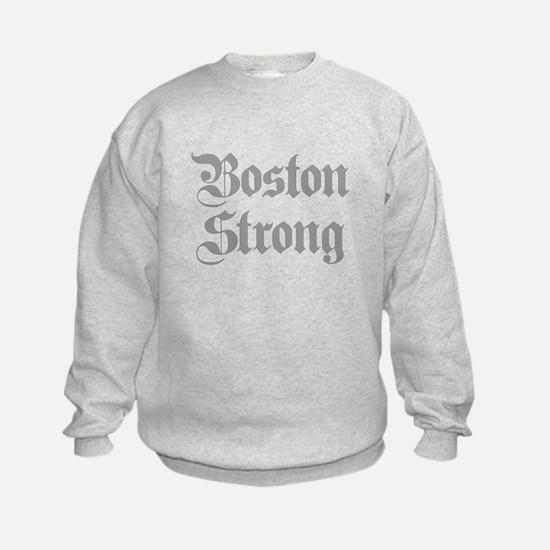 boston-strong-pl-ger-gray Sweatshirt