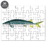 White Sturgeon fish Puzzle